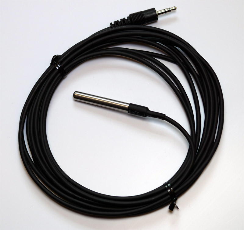 Steel Probe Upgrade For Dual Output Thermostat